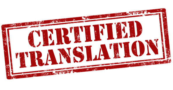 Certified and General Translations
